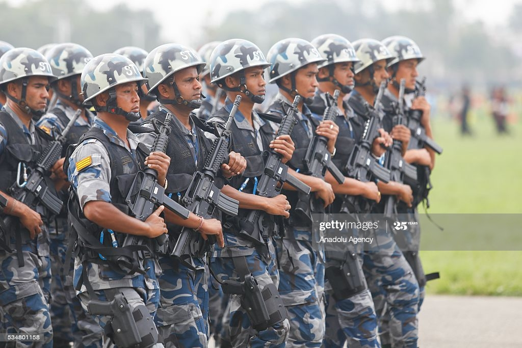 Nepal's Armed police forces