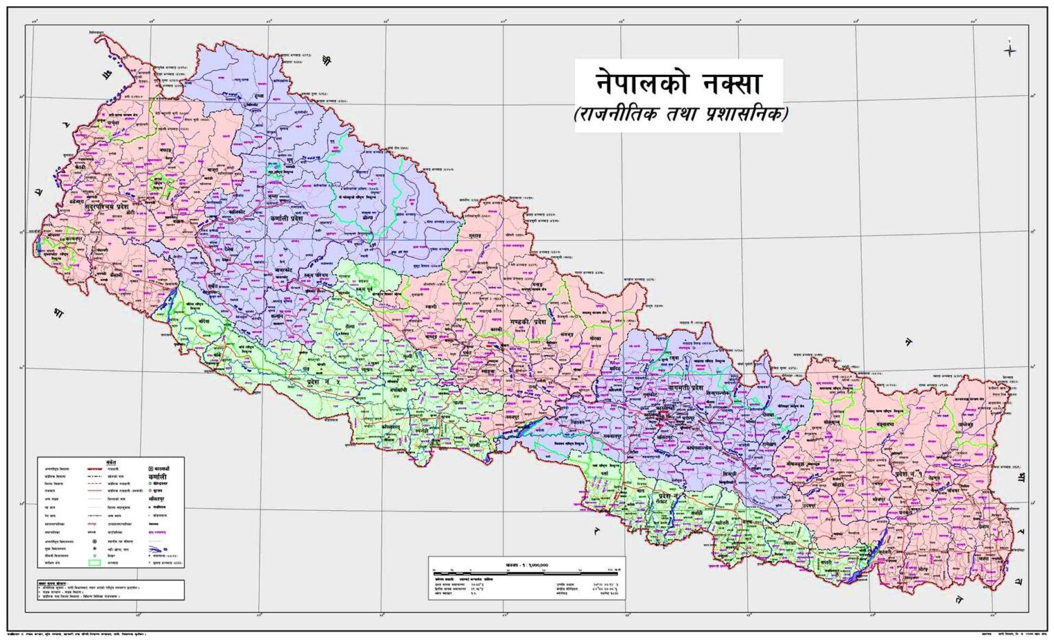 new Nepal-Map-